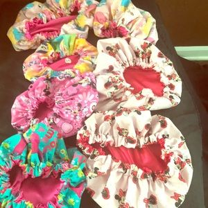 Custom made baby bonnets and Mommy and Me sets